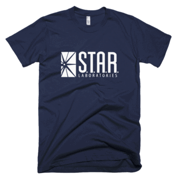 Shop S.T.A.R. Laboratories star labs t-shirts made by independent artists with love for The Flash, Arrow & D.C. Fans.